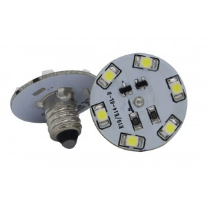 Lámpara LED E10 6 + 0 SMD...