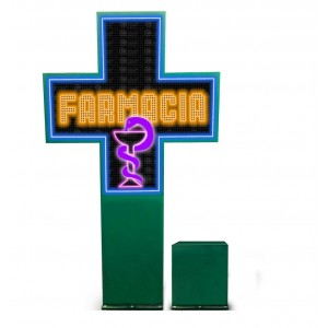 Cruz de Farmacia Full Color...