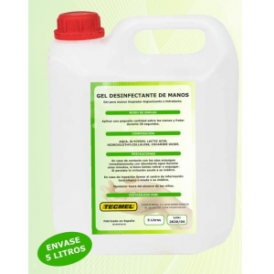 Gel de manos Desifectante - Higienizante 5L