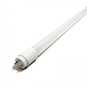 Tubo de LED T8 Vidrio 60Cm 330º 9W 850Lm Un Extremo
