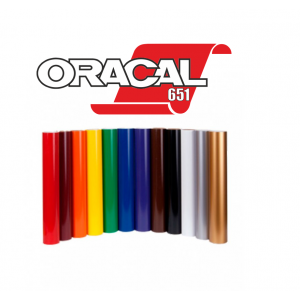 Vinilo ORACAL Serie 651 Brillo 5 Años