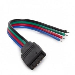 Conector para tira LED RGB...