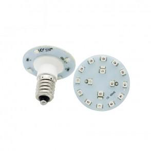 Lámpara LED E14 16 + 4 SMD