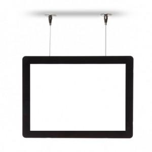 Carpeta Poster Display LED a 2 Caras A4 12V DC