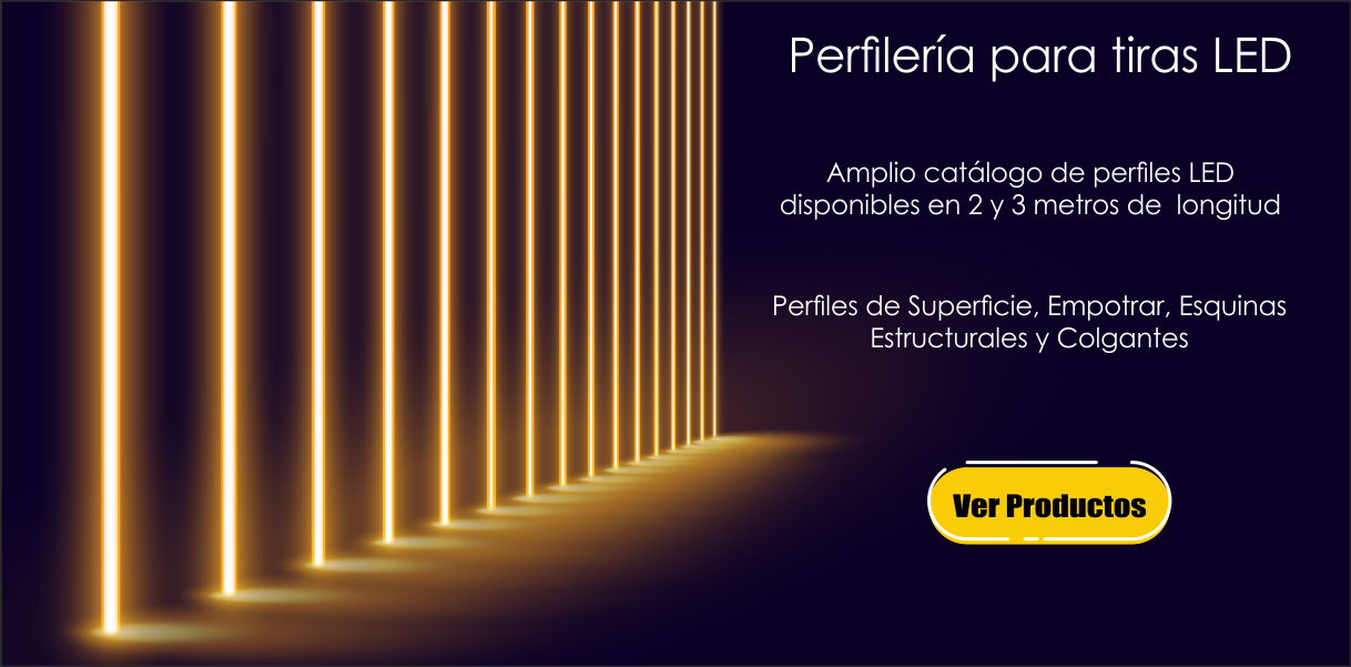 Perfileria LED